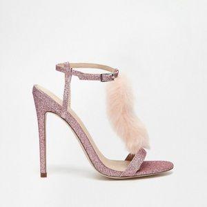 ASOS Hot Spell Glitter Heels